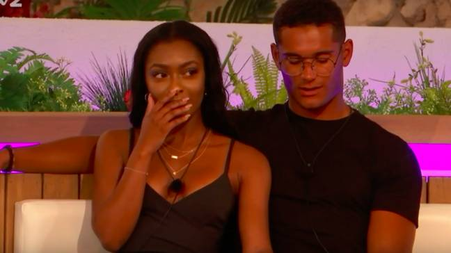 Danny and Jourdan coupled up just last week (Credit: ITV2)