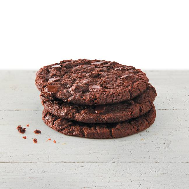 There's a vegan chocolate cookie too (Credit: Subway)