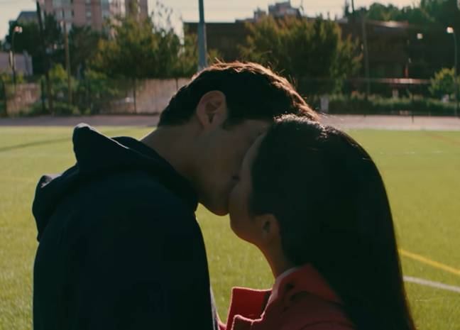 Lara Jean and Peter are experiencing a lot of firsts (Credit: Netflix)