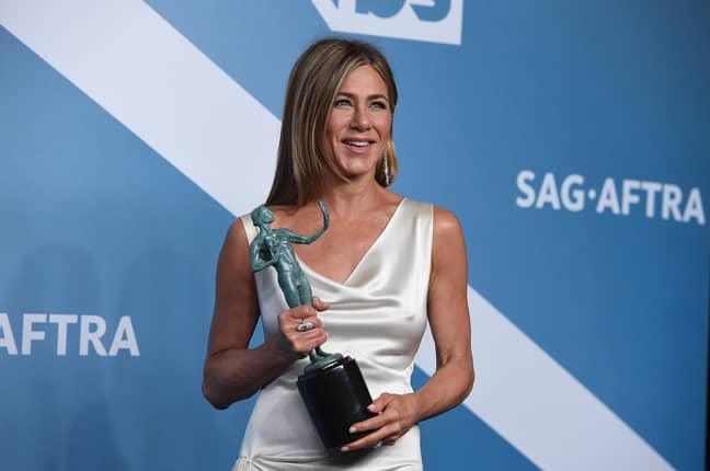 Jen won her first SAG award last night (Credit: PA)