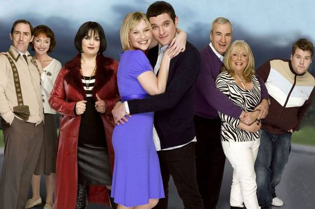 All three seasons of the hit BBC comedy has been removed from Netflix (Credit: BBC)