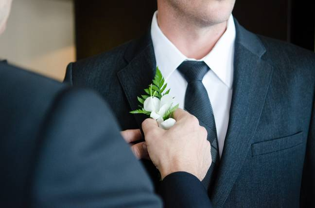 The groom was left stunned when his ex-wife showed up at his wedding (Credit: Unsplash)