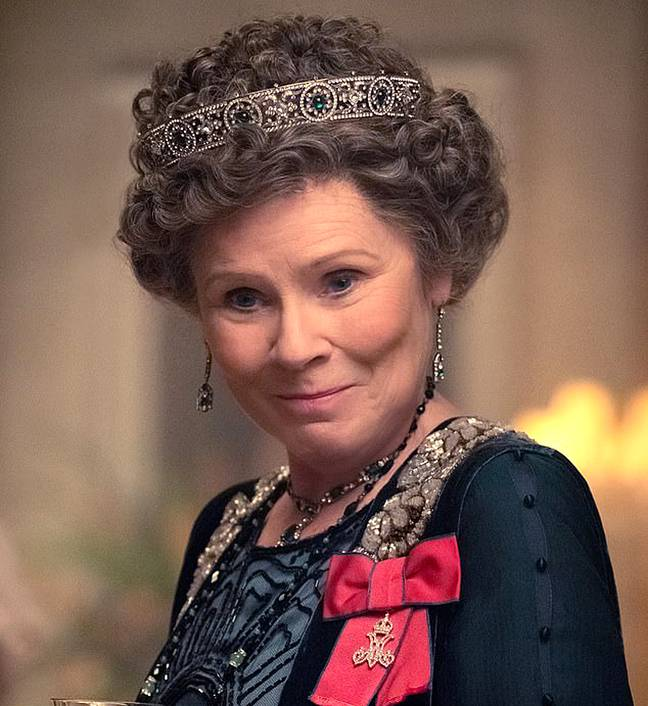 Imelda will take over as the Queen in Season 5 (Credit: Universal Pictures)