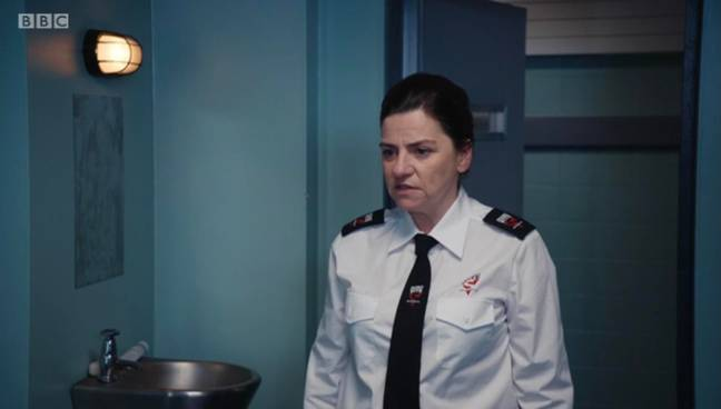 The prison guard appeared way back in series two (Credit: BBC)
