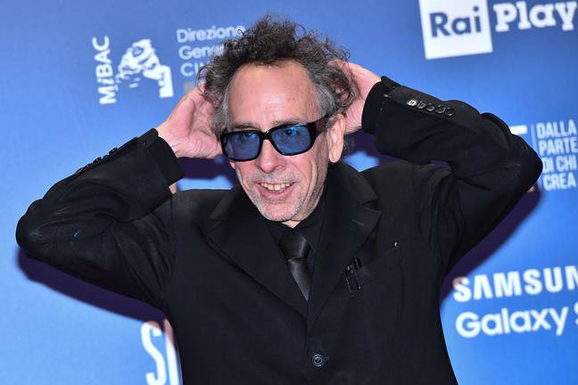 Tim Burton has also announced a new project with Netflix (Credit: PA Images)