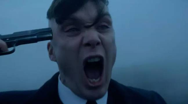 Series 5 ended with Tommy holding a gun to his head (Credit: BBC)
