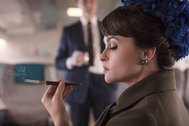 Helena Bonham-Carter is taking on the role of Princess Margaret. (Credit: Netflix)