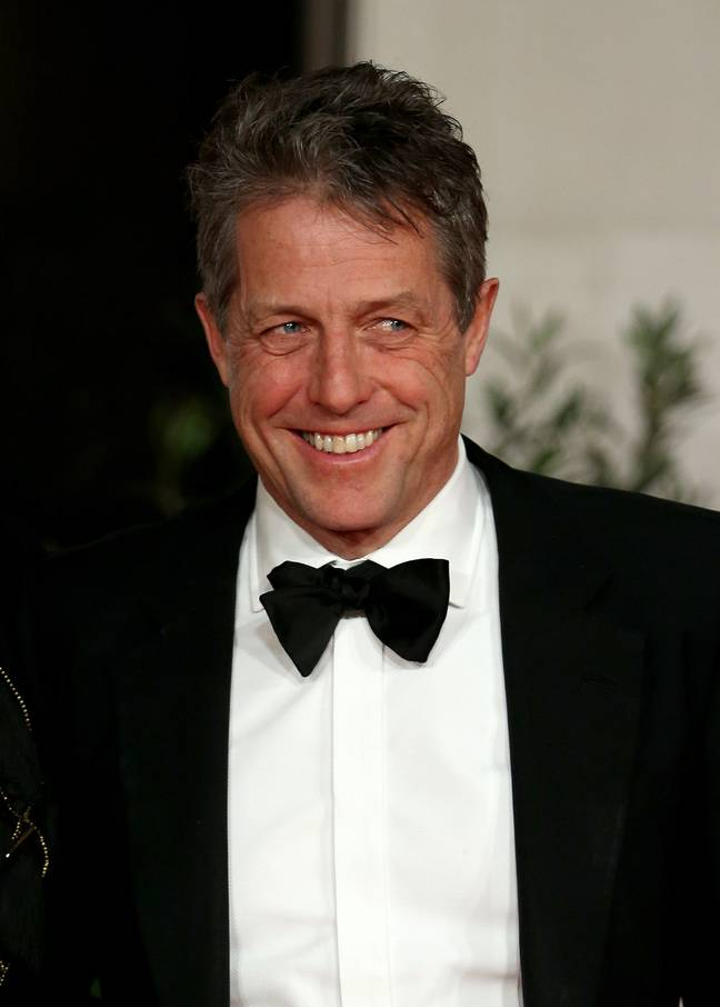 Hugh Grant revealed the news in a recent interview (Credit: PA)