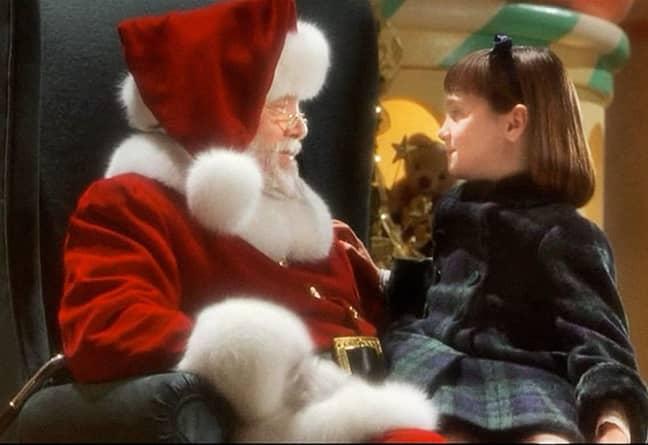 Matilda star Mara Wilson plays six-year-old Susan Walker who no longer believes in Santa Claus (Credit: 20th Century Fox)