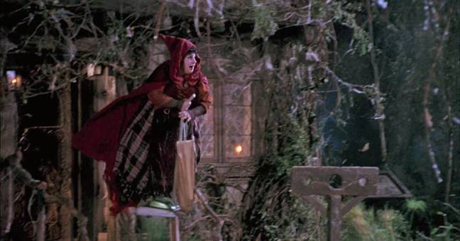 We'll never forget the moment Mary used a hoover as a replacement broomstick. (Credit: Disney)