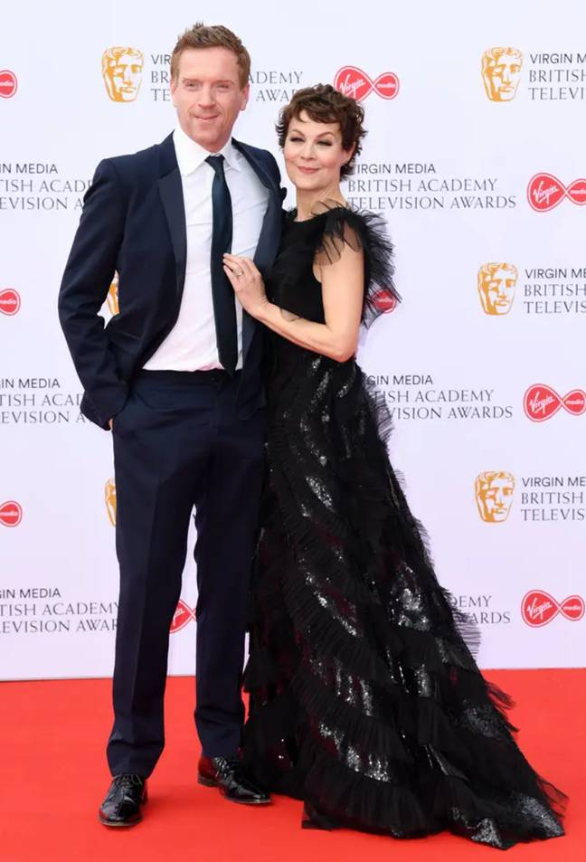Helen with her husband Damian Lewis (Credit: PA)