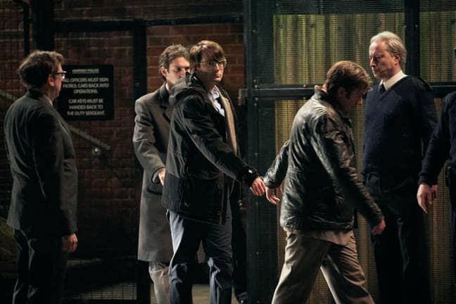 David Tennant plays serial killer Dennis Nilsen in the ITV drama (Credit: ITV)