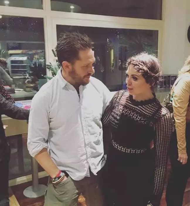Scarlett and Tom met while filming for Alan Carr (Credit: Instagram/ Scarlett Moffatt)