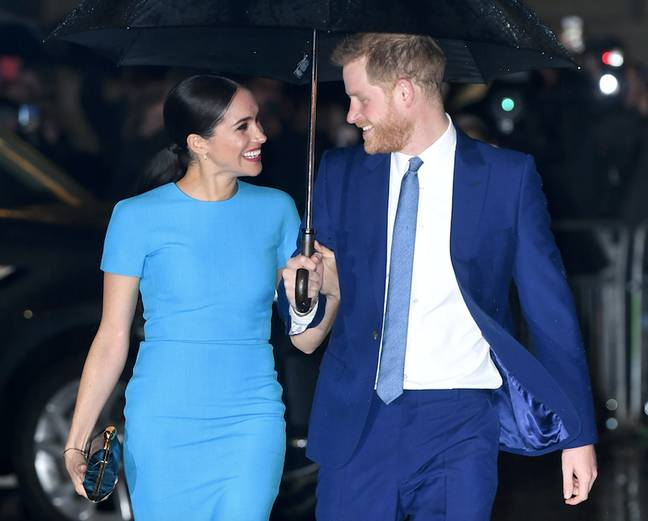 Meghan and Harry are supporting each other during the tough period (Credit: PA Images)