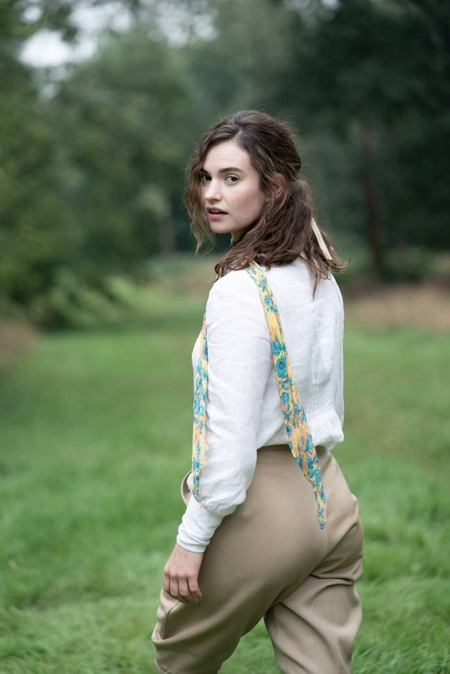 Lily James was drawn to Linda's wildness and passion (Credit: BBC)