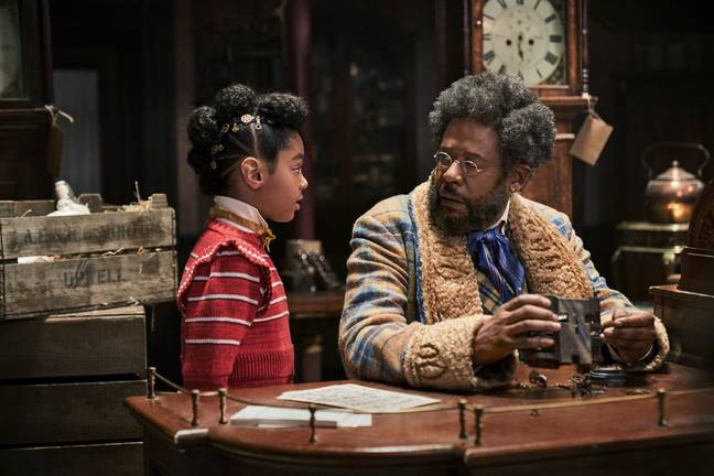 Forest Whitaker and Madalen Mills in Jingle Jangle (Credit: Netflix)