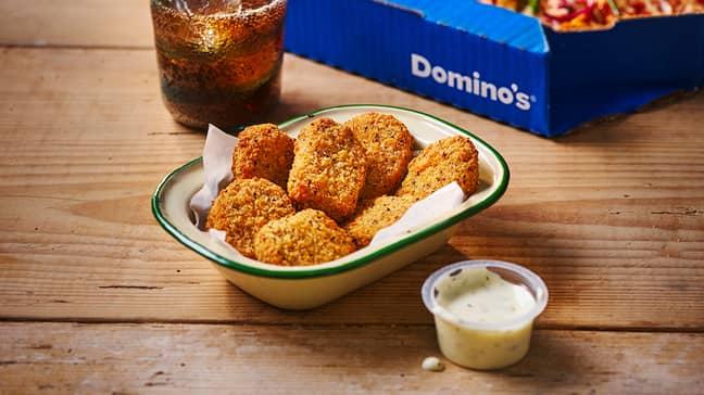 The Vegan Nuggets look delicious (Credit: Domino's)