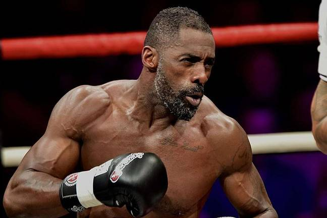Idris Elba trained to become a professional kickboxer in 2017 (Credit: Discovery)