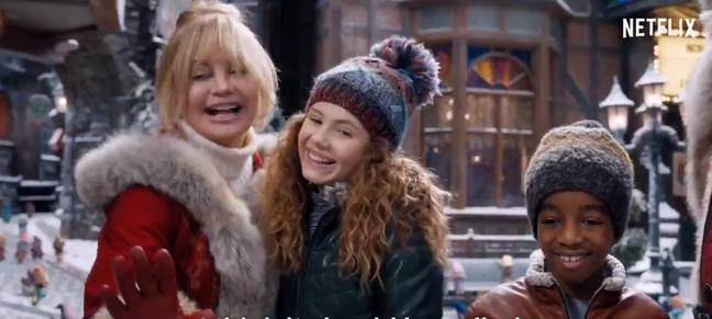 The new film is all about Mrs Claus (Credit: Netflix)