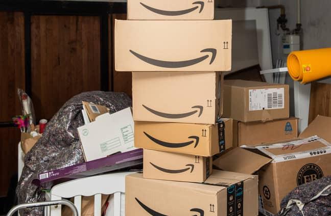Olga began to feel ashamed of the never-ending stream of online deliveries (Credit: Shutterstock)
