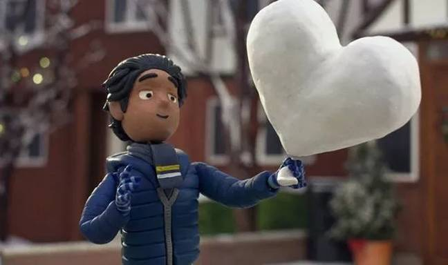 The long awaited festive ad is titled 'Give A Little Love' (Credit: John Lewis)
