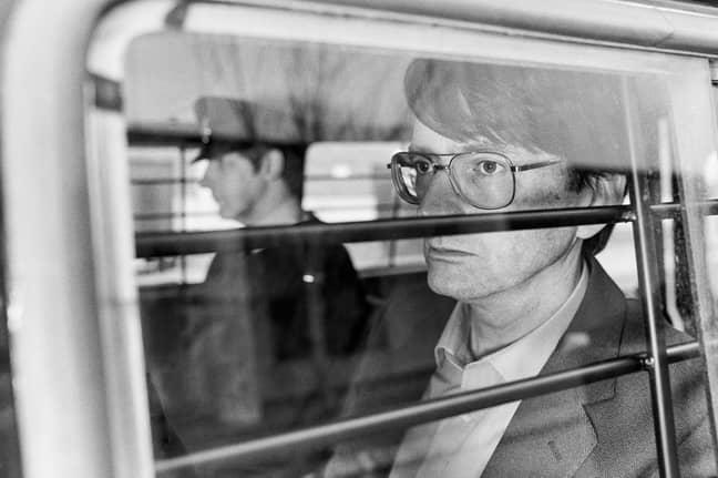 Nilsen was arrested in 1983 (Credit: ITV)