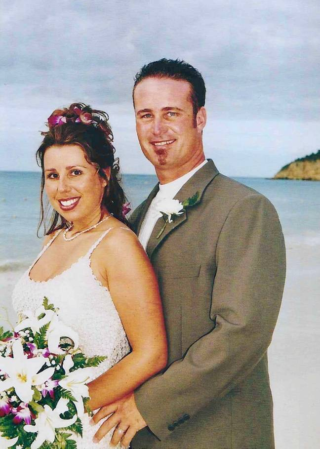 Cassondra and John had been together for 10 years (Credit: Caters News Agency)