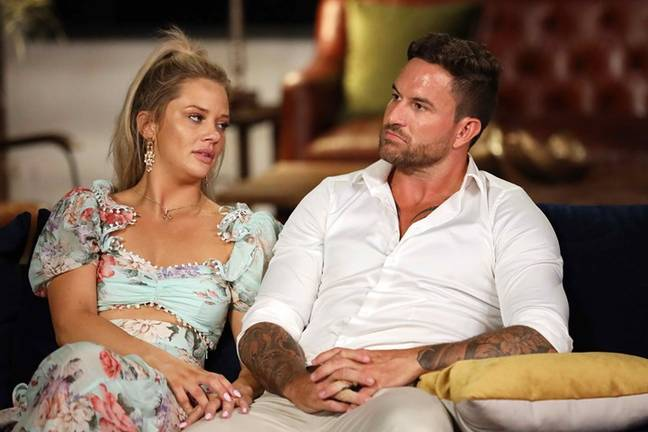 Jessika Power revealed some behind the scenes drama during the filming of the reunion special (Credit: Nine Network)