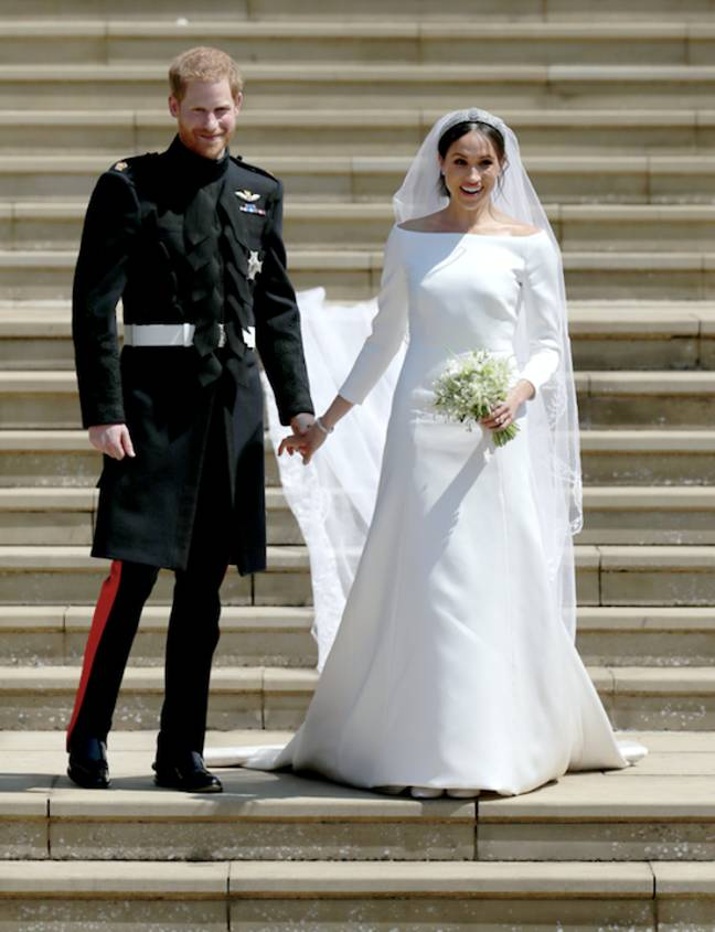 Meghan and Harry married in Windsor in 2018 (Credit: PA Images)