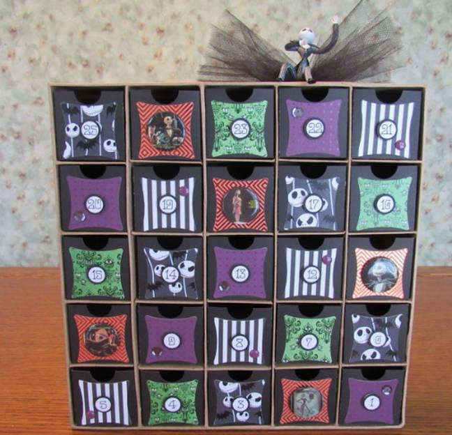 Some pricier Halloween advent calendars are ornately designed (Credit: Cubbybearcrafts/ Etsy)