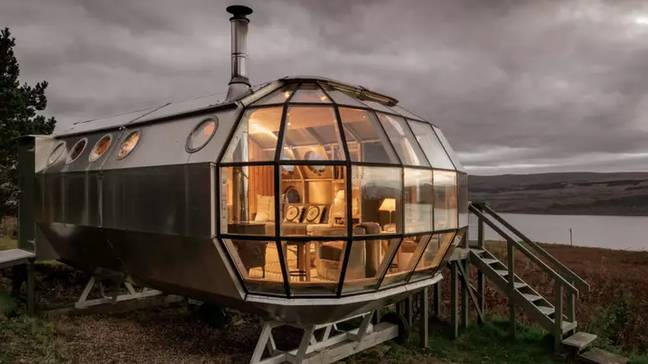 The Airbnb is located in Drimnin, with views of the Sound of Mull (Credit: Nigel Rigden/Airbnb)