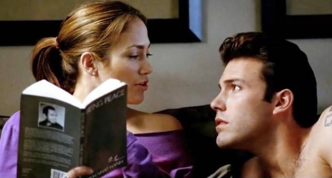 Jennifer Lopez and Ben Affleck met on the set of Gigli (Credit: Sony Pictures)