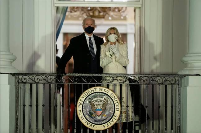 Joe Biden was sworn in as the 46th President of the United States on Wednesday (Credit: PA)
