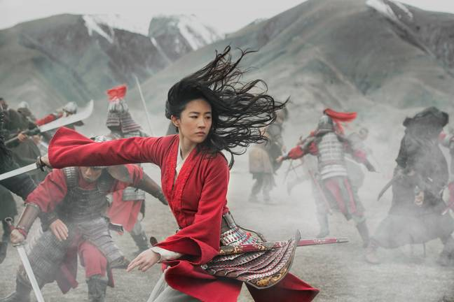 The international cast includes Yifei Liu as Mulan, pictured (Credit: Disney)