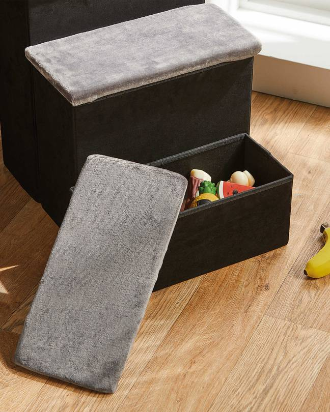 The steps even double up as storage (Credit: Aldi)