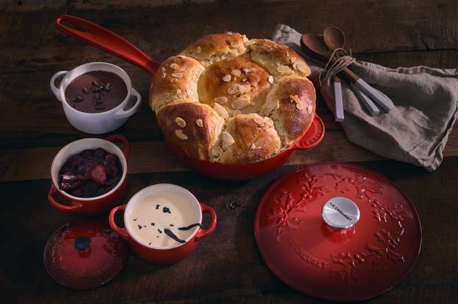 Le Creuset's Holly Collection is here for Christmas (Credit: Le Creuset)
