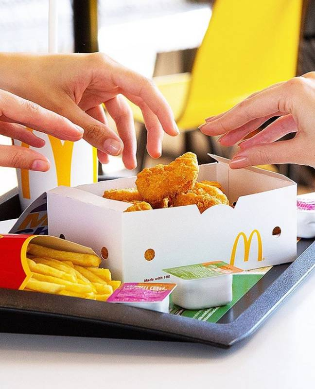 We're heading straight to McDonald's (Credit: McDonald's)