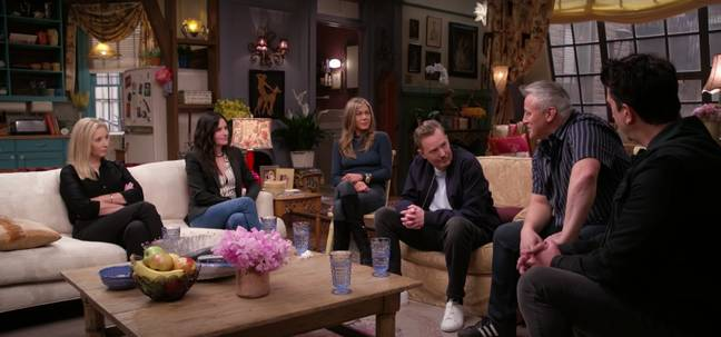 The cast reunite on screen for the first time since 2004 (Credit: HBO Max)