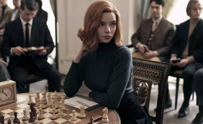 The Queen's Gambit is also about chess (Credit: Netflix)