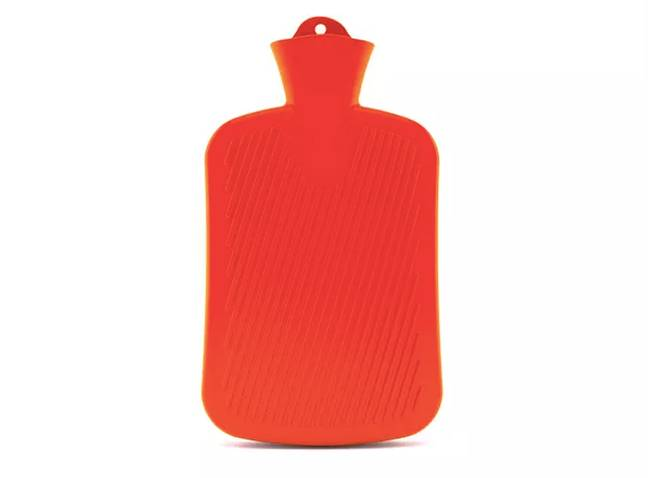 Just fill up your standard hot water bottle with cold or lukewarm water (Credit: Shutterstock)