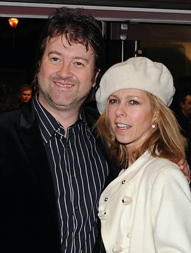 Kate and husband Derek in 2008 (Credit: PA)