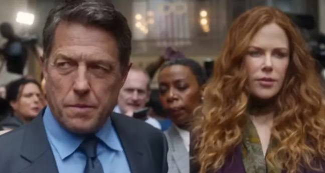 Hugh Grant is currently starring in The Undoing (Credit: Sky Atlantic/ HBO)