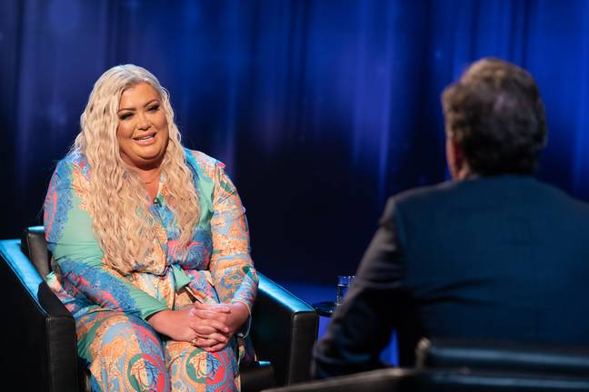 Piers promises to give Gemma a grilling (Credit: ITV)