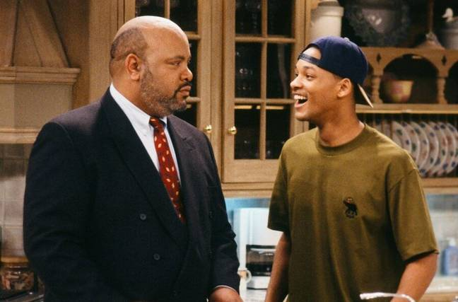 James Avery and Will Smith in The Fresh Prince of Bel-Air (Credit: NBC)