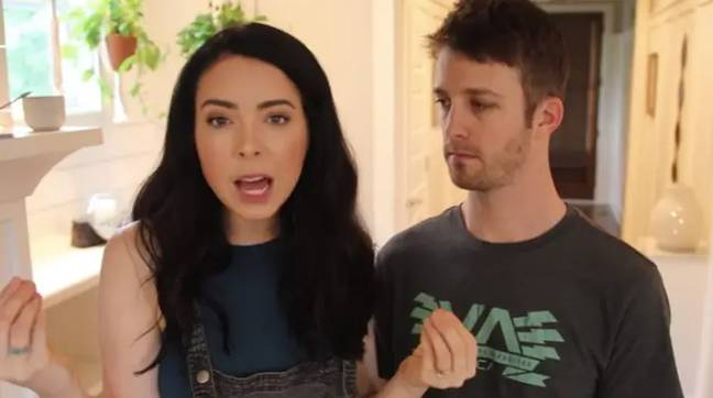 In other parenting news, this week we told you how Youtubers Nikki and Dan Phillippi have sparked debate (Credit: YouTube/ Nikki Phillippi)