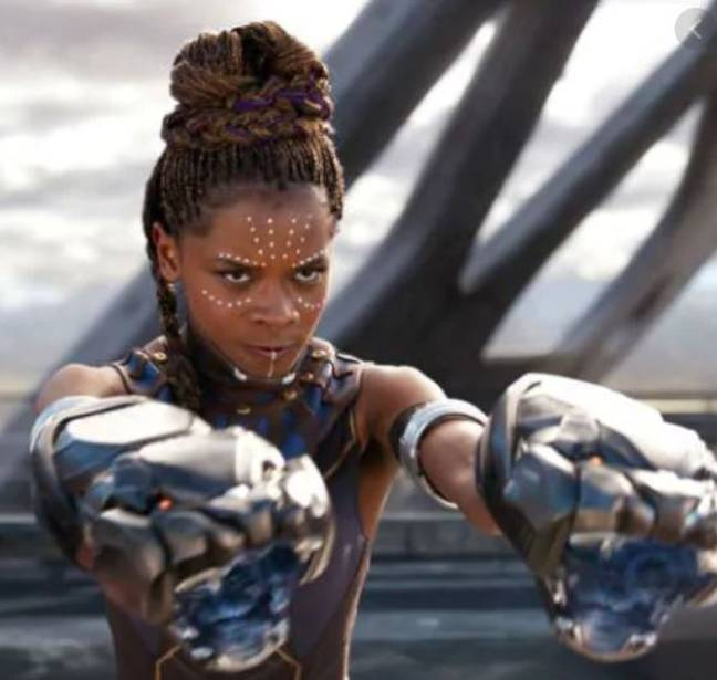 Letitia Wright as Shuri in Black Panther (Credit: Disney/Marvel)