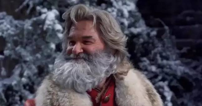 Kurt Russell is back as Father Christmas (Credit: Netflix)