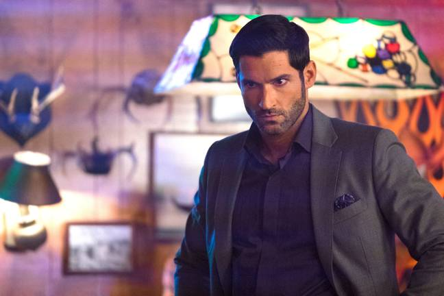 The actor, 41, now plays the title character in 'Lucifer' (Credit: Netflix)