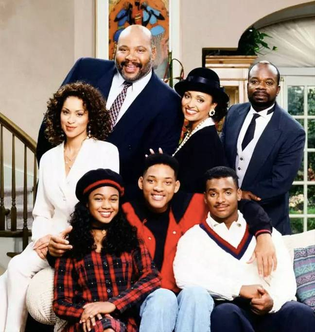 Cast of The Fresh Prince of Bel-Air (Credit: NBC)
