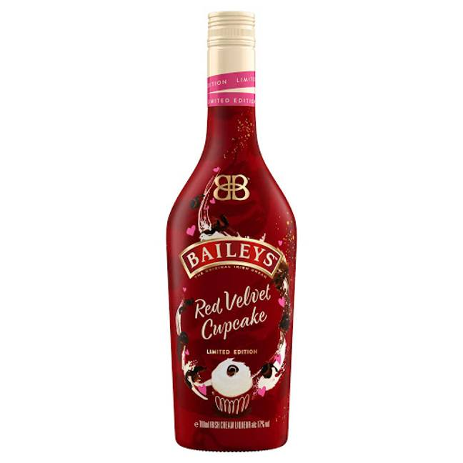 The Red Velvet Baileys is now available in the UK (Credit: Baileys)